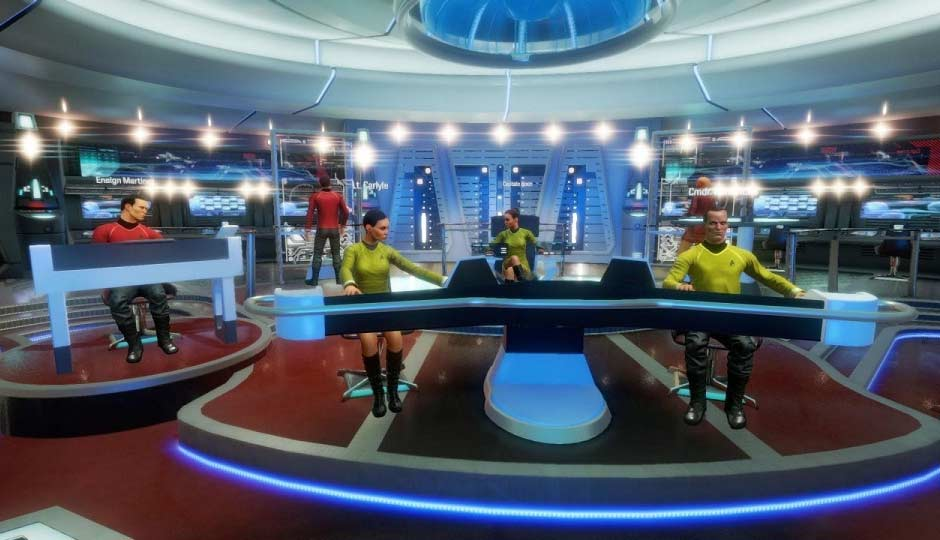 Intel Helps Star Trek Bridge* Accomplish Its VR Mission