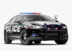Ford's First Hybrid Cop Car Is One Mean, Green Machine