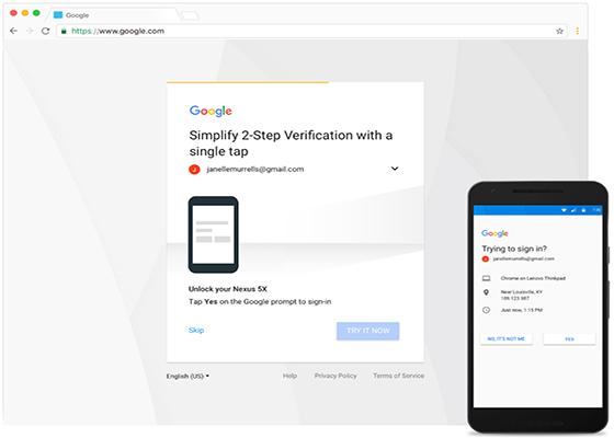 Google to Replace SMS Codes With Mobile Prompts in 2-Step-Verification Procedure