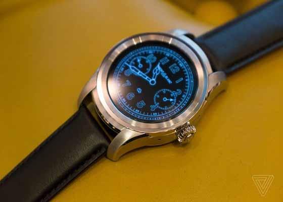 Montblanc Unveils Its First Smartwatch