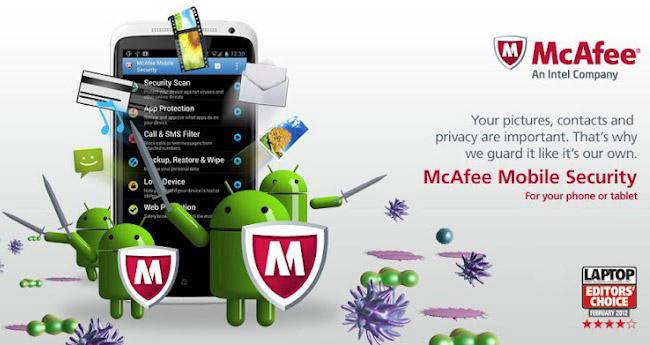 Mcafee для андроид