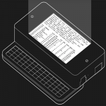 This handheld Linux PC is actually a Raspberry Pi with iPhone keyboard