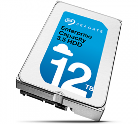 Seagate Announces Enterprise Capacity 12 TB HDD: 2nd-Gen Helium-Filled Hard Drives