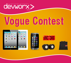 Welcome to the devworx Vogue Contest