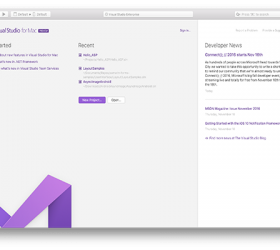 Introducing Visual Studio for Mac