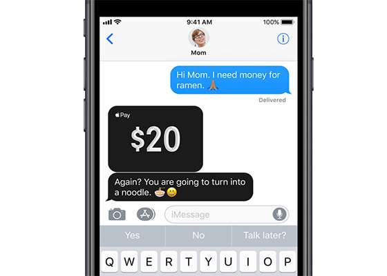Apple Pay Cash Coming in Future Update to iOS 11 and watchOS 4