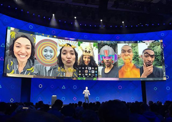 Facebook launches augmented reality Camera Effects developer platform