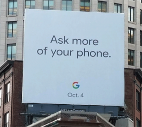 October 4th is new Pixel day, confirmed by Google with video and billboard
