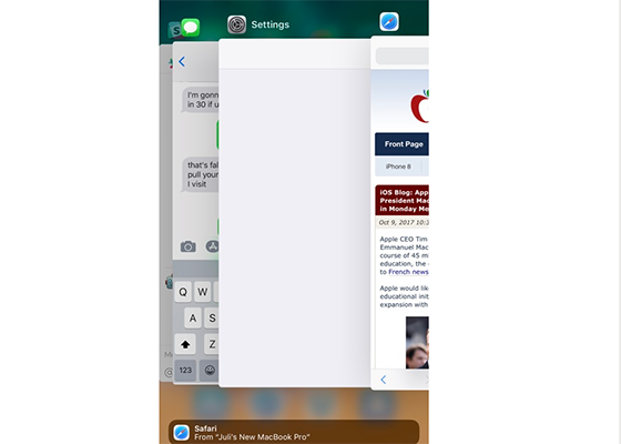 iOS 11.1 Beta 2 Brings Back 3D Touch App Switcher