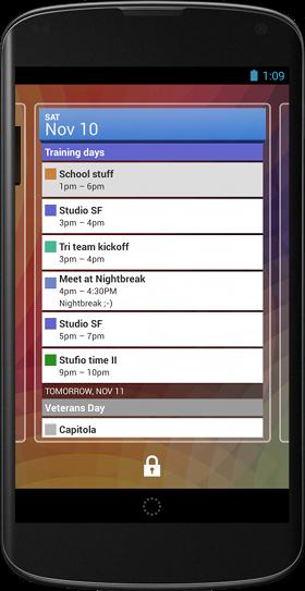 Lock Screen Widgets