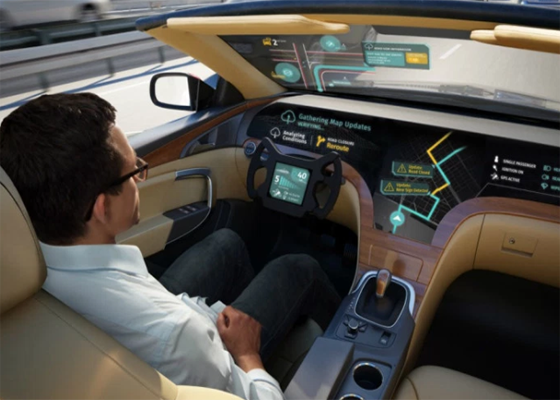 LG teams up with HERE for self-driving telematics tech