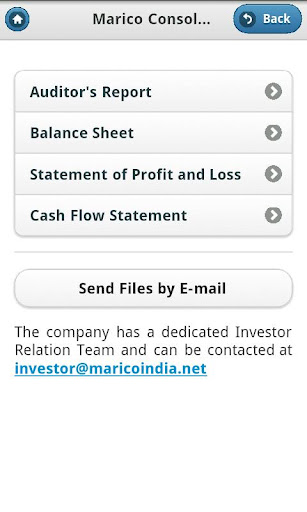 Marico Investor App Consolidated report