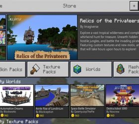 Minecraft is getting a Marketplace where creators can monetize their creations