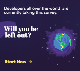 Participate in the Developer Economics Survey and win awesome goodies!